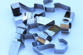 sachet de 10 clips de fermeture inox