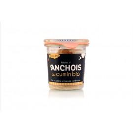 Rillettes d'anchois au cumin