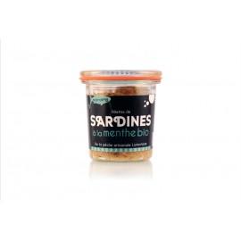 Rillettes de sardines à la menthe