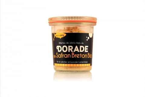Rillettes de dorade au safran Breton